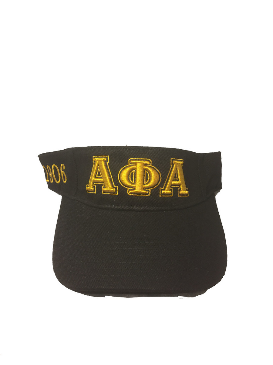 Alpha Phi Alpha Fraternity Visor Hat Cap - Brothers and Sisters ...