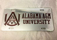 Alabama A&M University License Plate- Style 4