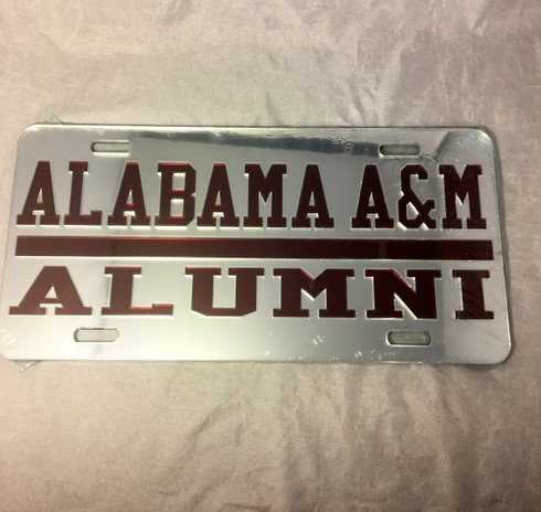Alabama A&M University License Plate- Style 5