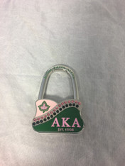 Alpha Kappa Alpha AKA Sorority Purse Holder