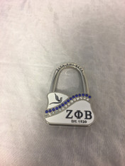 Zeta Phi Beta Sorority Purse Holder