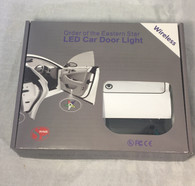Order of the Eastern Star OES LED Car Door Light- Set of 2