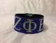 Zeta Phi Beta Sorority Bling Bracelet- Blue