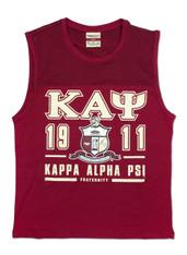 Kappa Alpha Psi Fraternity Tank Top- Crest
