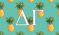 Delta Gamma Sorority Flag-Pineapple