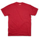 Kappa Alpha Psi Fraternity Crest Shirt-Crimson-Back