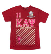 Kappa Alpha Psi Fraternity Foil Print Shirt-Front
