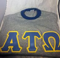 Alpha Tau Omega Fraternity Ringer T-shirt