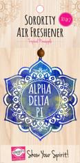 Alpha Delta Pi ADPI Sorority Mandala Air Freshener