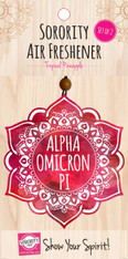 Alpha Omicron Pi AOPI Sorority Mandala Air Freshener