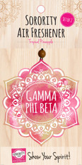 Gamma Phi Beta Sorority Mandala Air Freshener