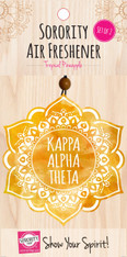 Kappa Alpha Theta Sorority Mandala Air Freshener