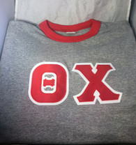 Theta Chi Fraternity Ringer T-shirt