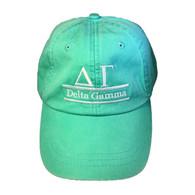 Delta Gamma Sorority Hat- Seafoam