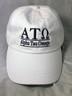 Alpha Tau Omega ATO Fraternity Hat- White