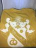 Sigma Nu Fraternity Comfort Colors Shirt- Old Gold-Back