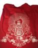 Kappa Alpha Fraternity Comfort Colors Shirt- Red - Back