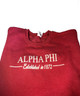 Alpha Phi Crewneck Sweatshirt- Red