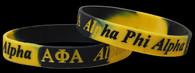 Alpha Phi Alpha Fraternity Silicone Bracelet
