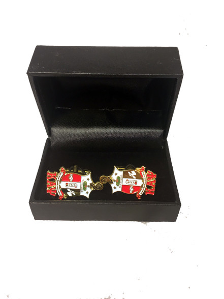 Kappa Alpha Psi Fraternity Crest Cuff Links