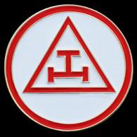 Mason Masonic Triple Tau Lapel Pin