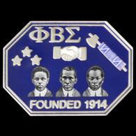 Phi Beta Sigma Fraternity Founders Lapel Pin