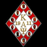 Kappa Alpha Psi Fraternity Founders Lapel Pin