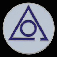 Order of the Eastern Star Circle of Perfection Lapel Pin