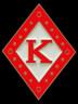 Kappa Alpha Psi Fraternity Diamond Lapel Pin