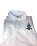 Sigma Chi Fraternity Dri-Fit Polo- Crest-White