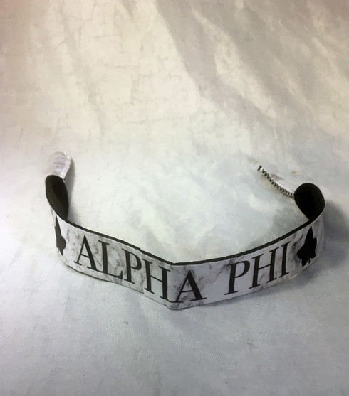 Alpha Phi Sorority Sunglass Straps- Marble