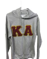 Kappa Alpha Fraternity Hoodie- Gray