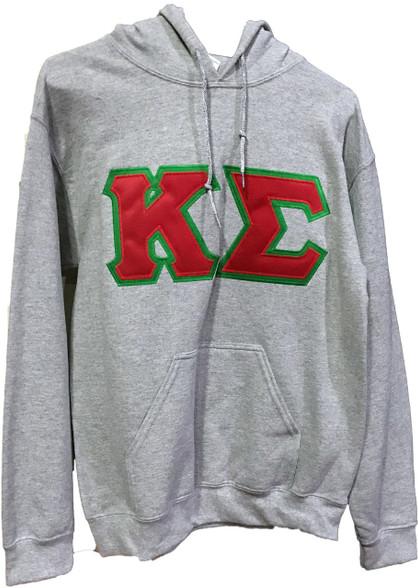 Kappa Sigma Fraternity Hoodie- Gray