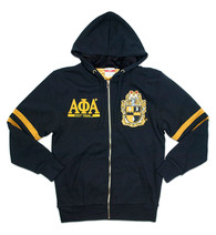 Alpha Phi Alpha Fraternity Zip-Up Hoodie-Front