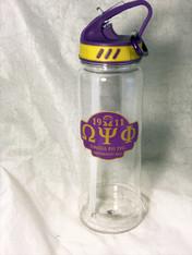 Omega Psi Phi Fraternity Water Bottle