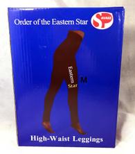 Order of the Eastern Star OES Yoga Legging- Black