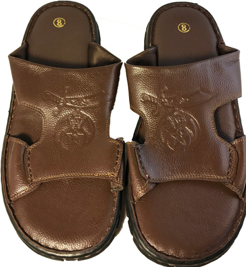 Shriner Leather Slides
