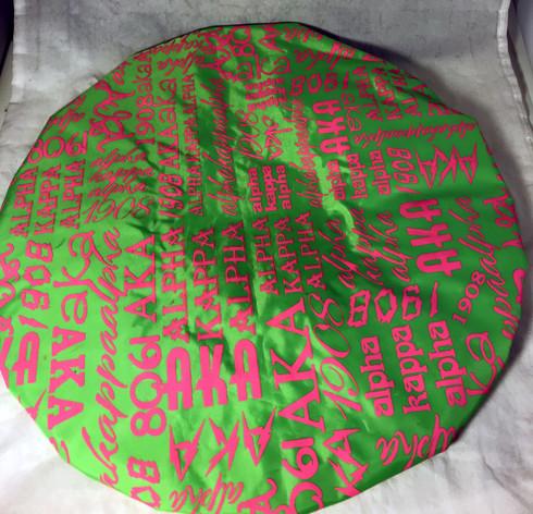 Alpha Kappa Alpha AKA Sorority Shower Cap- Green