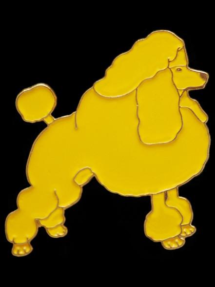 Sigma Gamma Rho Sorority Poodle Lapel Pin