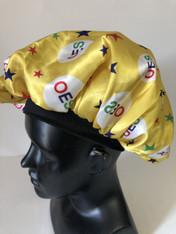 Order of the Eastern Star OES Sleep Bonnet Cap-Yellow