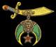3 Inch Tall Shriner Emblem