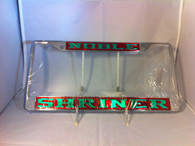 Shriner License Plate Frame