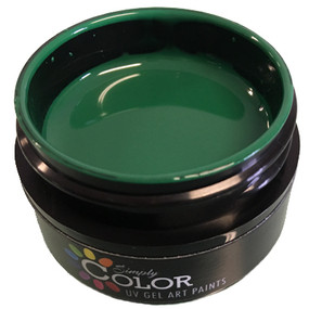 Simply Color UV GEL ART PAINTS - GREEN WITH ENVY 15ML