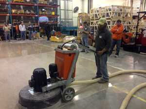 Polished Concrete Solutions Training