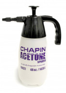 Chapin Acetone Sprayer - 48oz. Sprayer • Model #10027 • UPC #023883100278 48oz. Acetone Hand Sprayer for Concrete Staining