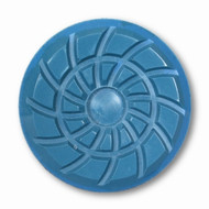 "Wide Channel 3"" Spiral Polishing Pad"