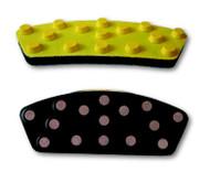 Superabrasives Banana Polishing Pads come in grits 30-8500