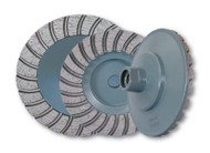 """Turbo Cup Wheels come in 4"""" or 5"""" 5/8-11in threaded"""