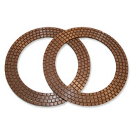 "7"" Copper 3N Rings"