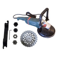 """7"""" Pro Grinder-Vac Assembly 8,500 RPM with Convertible Shroud"""